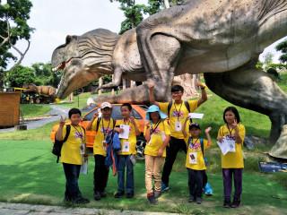 恐龍沒有放暑假 家扶戶外教學增強孩子自理能力