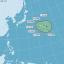 中央氣象局21日表示,今年第五號颱風諾盧(Noru,南韓命名)已在上午8時形成,但路徑往日本方向移動,對台不會有直接影響。(圖/中央氣象局表示提供)
