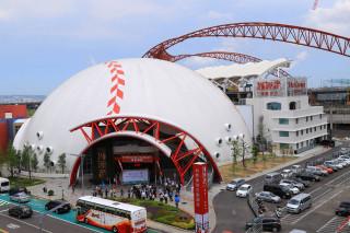 「迷你蛋」終於孵出來了 台中洲際棒球文創園區開幕