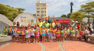 彰化市公所將於7月29日與8月26日舉辦兩場安全的暑期戲水活動邱市長等人先宣傳