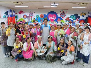 展現花蓮市客家文化 客家花布應用小物培訓班開課