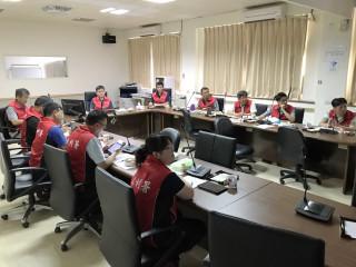 因應尼莎颱風可能來襲,水利署未雨綢繆舉行防汛視訊會議,全力避颱風帶來的災害。