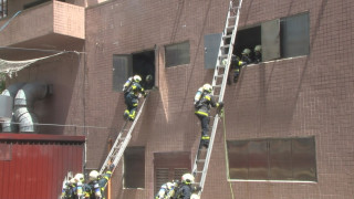 北市消防救助隊結訓 女隊員巾幗不讓鬚眉