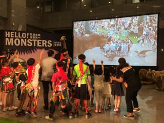 恐龍來了 新北兒藝節引進AR科技