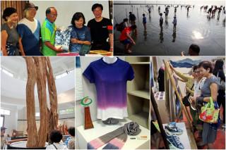 礁溪組團參訪中台灣藝術場館及濕地保育區。(圖/記者陳木隆攝)