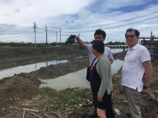 颱風接連侵襲台灣 張縣長實勘嘉義排水系統