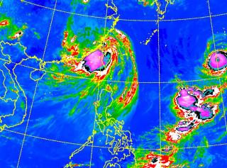 海棠警報解除 西南氣流威脅仍在 南部嚴防強降雨(圖/翻攝中央氣象局)