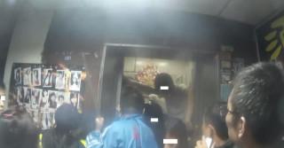 颱風夜6名民眾受困電梯 消防員即刻救援解危機