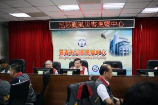 脫離海棠颱風暴風圈 嘉義市解除應變中心開設