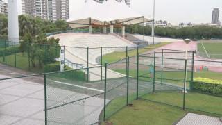 世大運維安管制 新莊體育園區架圍籬.監視器