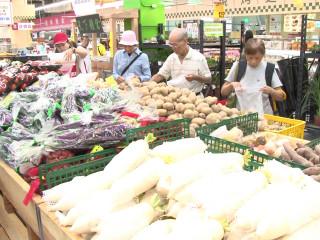 雙颱前後報到  消費者憂心菜價飆升(SOT)