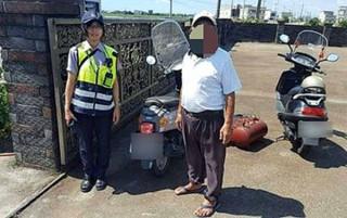 土庫所警員林怡妙機智且有同理心的為民服務,獲民眾肯定及讚許。(記者陳昭宗拍攝)