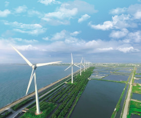 縣長魏明谷積極打造綠能風光大縣