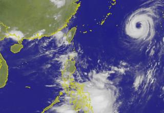 第11號颱風奈格形成 侵台機會低(圖/翻攝中央氣象局)