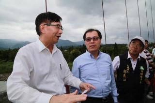行政院政委吳宏謀訪嘉 吳副縣長力推前瞻水環境亮點計畫