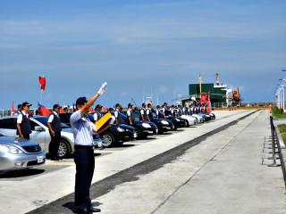 世大運海域維安嚇阻非法漁船   海巡署北巡局掃蕩誓師大會