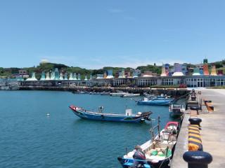 富基魚市獲行政院農業委員會評鑑為全國數一數二的觀光魚市。(圖/記者黃村杉攝)