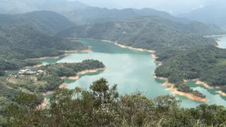 石碇鱷魚島增設步棧道 飽覽翡翠水庫美景
