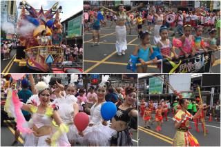 羅東藝穗節熱鬧踩街。(圖/羅東鎮公所提供)