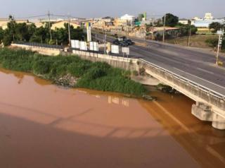 跳入黃河洗不清 舊濁水溪遭偷排廢水整條溪水成「黃河」