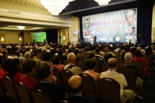 全球客家文化會議暨台灣客家懇親大會在美洲。