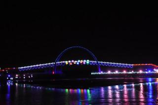 王功漁火節夜景