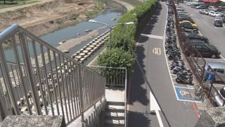 景美溪橋增設引道 方便自行車.輪椅族通行