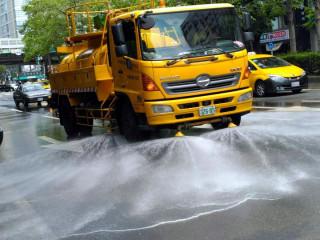 熱浪來襲 北市將擴大道路灑水範圍