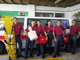 「役」起前進的愛~ 6名準醫生服消防役