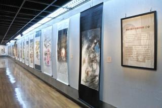 「嘉義市象外水墨研究會2017會員聯展」嘉市文化局4樓展覽室展出