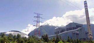 和平電廠鐵塔14日兩部機組才開始上線並滿載供電,15日凌晨驚傳1號機破管意外。(圖/Wikipedia)