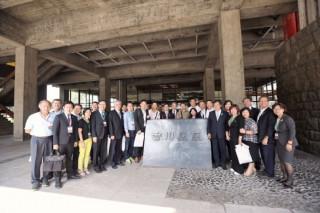 桃園市長鄭文燦率市府團隊進行,日本友誼城市巡訪,前往香川縣廳拜會。