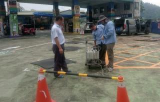 南投環保局於全縣加油站進行總體檢確保安全。