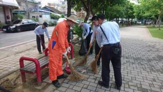 「企業認養道路清掃及空氣品質淨化區」