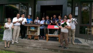 公部門及參與「集集鎮迷你書箱計劃」的業者都相當支持這項活動。〈記者吳素珍攝〉
