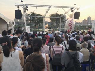 台北河岸音樂季 古亭河濱公園週六開唱