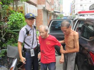 老翁外出散步忘歸途,熱心警協助護送返家「真正啾感謝ㄟ(台語)」