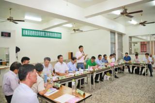 義竹鄉前瞻計畫基層說明會 吳副縣長表示將力爭治水預算
