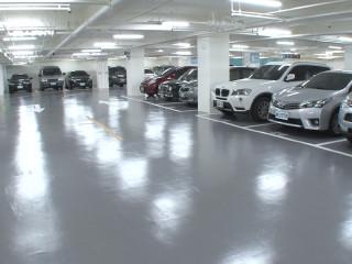五星級停車空間 稅務局停車場改善啟用