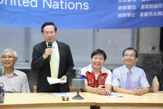 2017模擬聯合國工作坊 涂市長鼓勵學生關心國際公共議題