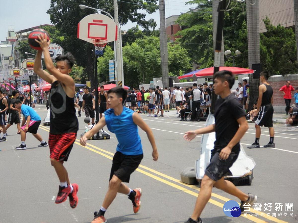 鼓勵青少年從事正當休閒活動 屏縣舉辦3對3籃球鬥牛賽