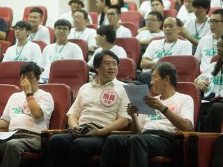 青年創意營 林右昌:期許成員加入市府團隊讓基隆更進步