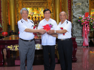 楊梅錫福宮主任委員、委員宣誓就職典禮。