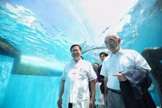 桃園市長鄭文燦率市府團隊,前往橫濱拜會株式會社橫濱八景島。