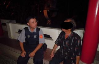 男子身體不適請求協助 警即刻給予關懷並協助送醫