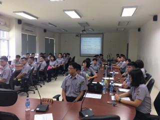 警專學生暑期實習 屏縣警方期勉建立從警價值