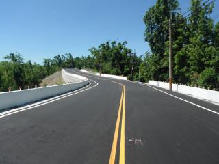 內門高120線道路災後搶修工程,在日前全面通車。(圖/記者何沛霖攝)