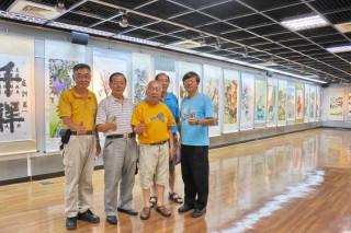 嘉義市退伍軍人協會106年會員書畫美展-「人生之美」歡迎踴躍參觀~