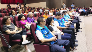 南投縣多位議員工商宗教團體參與座談。(國民黨南投縣黨部提供)