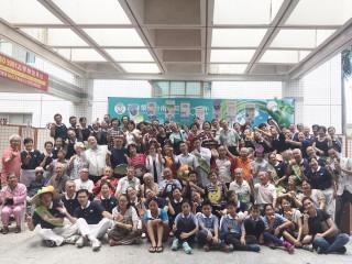 高榮南院60週年院慶,攜手慈濟蔬一餐救地球。